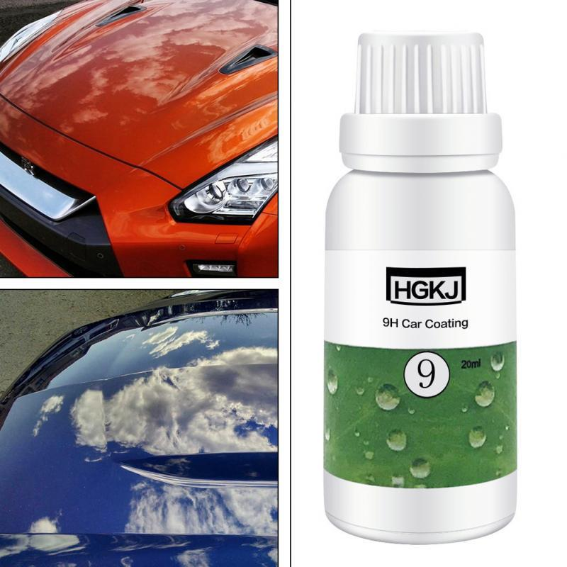 LumiParty HGKJ 9H Car Coating Paint Protecter Auto Maintenance Accessories Waterproof Rainproof Nano Hydrophobic Coating  R10