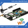 HD-C10 WI-FI + USB + 2 Порт Ethernet (Может использоваться в качестве отправки карты) Асинхронный Полноцветный Видео СВЕТОДИОДНЫЙ дисплей Управления WI-FI Карты
