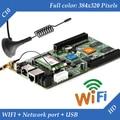 HD-C10 WIFI + USB + Porta Ethernet 2 (Pode ser usado como cartão de envio) Asynchronous Vídeo Full Color display LED Cartão de Controle De WI-FI