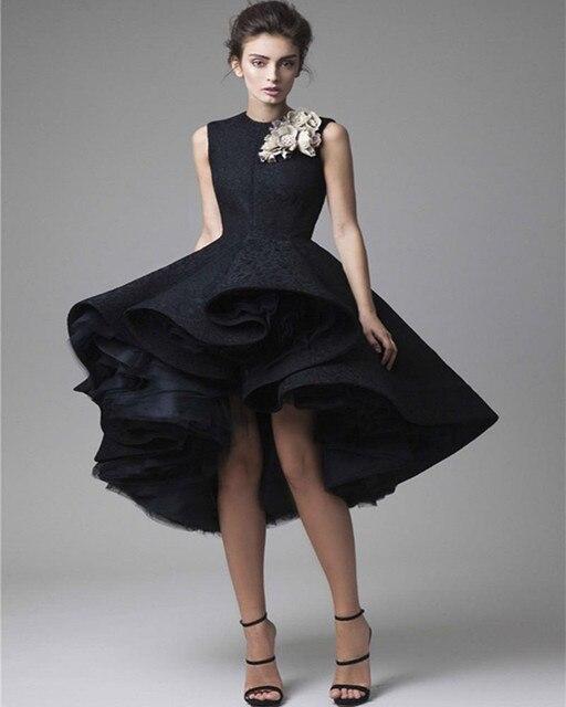 Vestidos de gala negro corto
