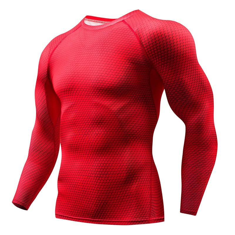 7a62412d4c086 Aliexpress.com : Buy 2018 Plaid T Shirt Men Compression Shirt Rashguard Long  Sleeve Combat Shirt Breathable Fitness Bodybuilding T shirts Gyms Tops from  ...
