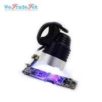 Lámpara LED de 6W y 5V con USB para curado de pegamento UV  duradera  luz púrpura para curado de aceite verde ultravioleta  herramienta de reparación de PCB de la placa base del teléfono