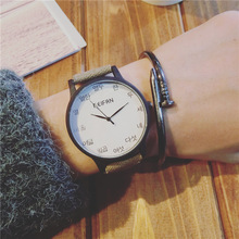 Sizzling Model Quartz Watch New Arrival Excessive High quality Ribbon Jean Girls Males Watch Elegant Wristwatch Reloj Mujer Clock