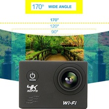 Wifi Camera 16MP 170 Degree Wide Angel Sports DV Waterproof Outdoor Diving Riding Photo Shooting Video Recording(China)