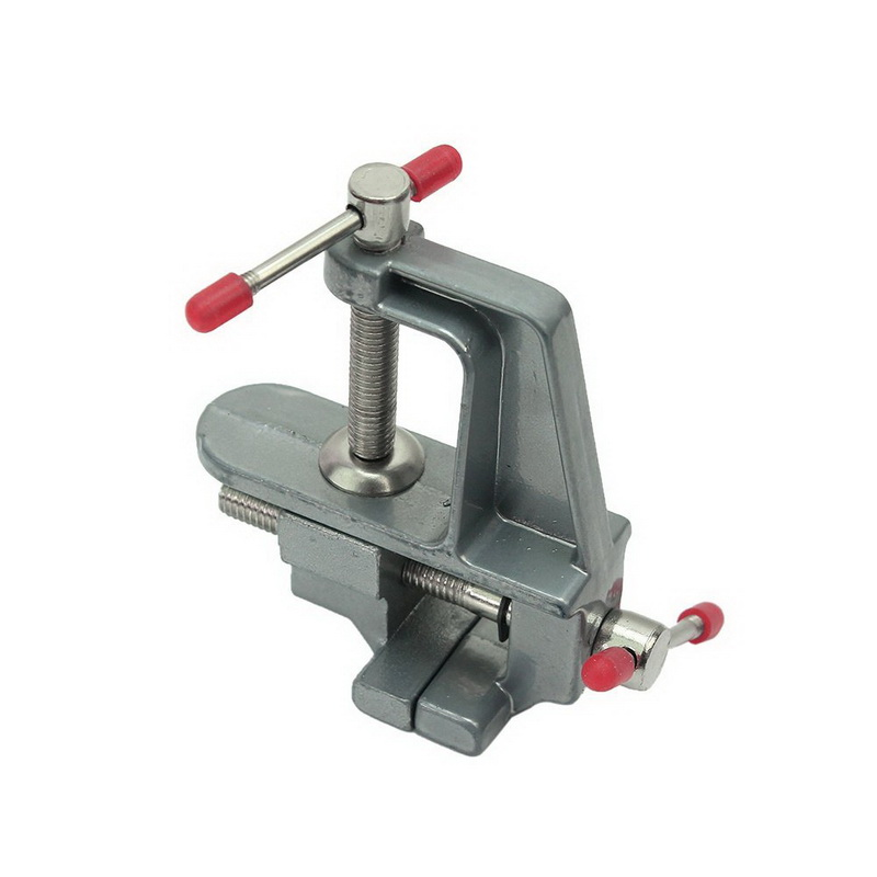 Mini Wood Portable Bench Vice Small Jewelry Clamp Vice Table Vise Tools