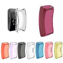 Модный мягкий ультратонкий защитный чехол из ТПУ Для Fitbit Inspire/InspireHR/Ace2, новинка, фиолетовые аксессуары для часов