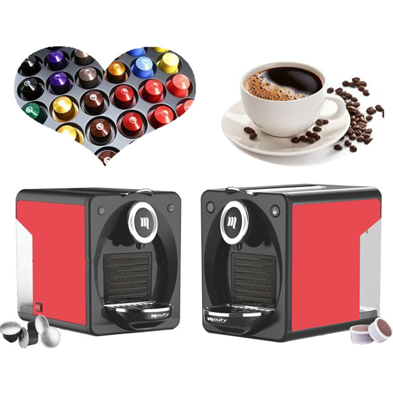 Mini coffee capsule making machines nespresso