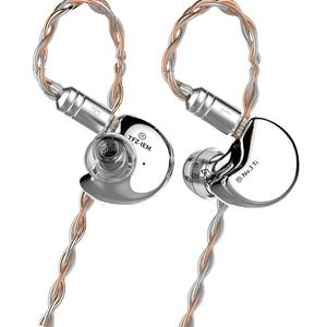 Image 5 - Tfz no.3 in ear fones de ouvido driver dinâmico super bass cancelamento de ruído fones de ouvido dj fone de ouvido estéreo 0.78mm 2pin cabo destacável