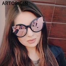 dd8b10fdc0 Compra cat eye mirrored lenses women's sunglass y disfruta del envío  gratuito en AliExpress.com