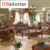 DSinterior macio mobiliário de estilo americano sofá de couro genuíno conjunto combinação