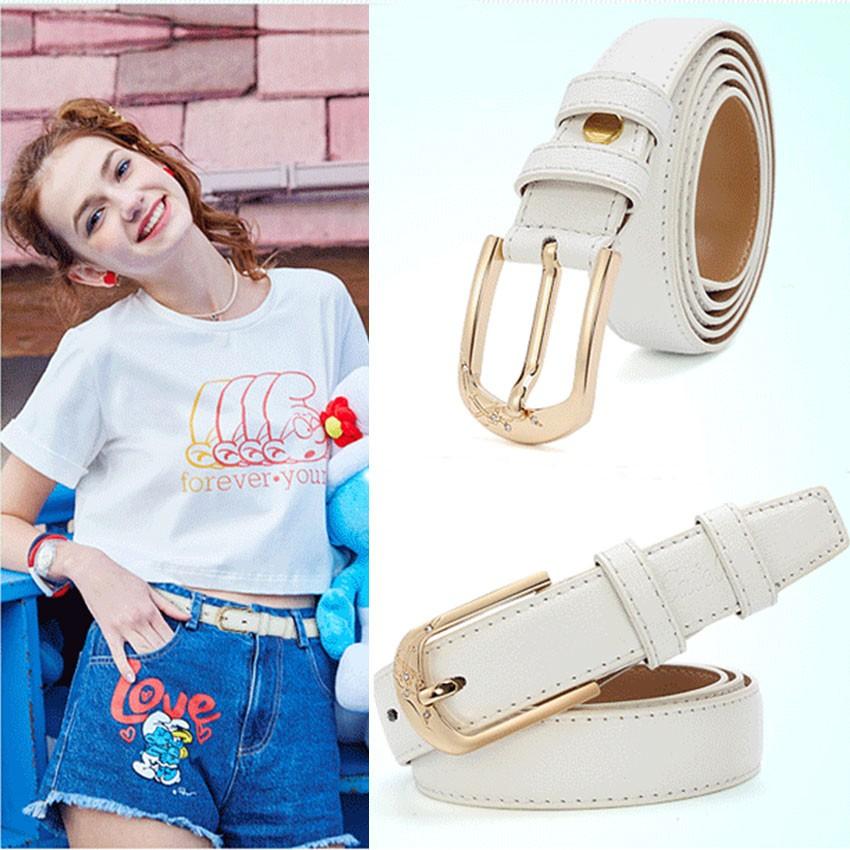 CATELLES Leather Belts For Women Designer Female Fashion Belt High Quality Woman Cinturones Mujer Metal Buckle Ceinture Femme (1)