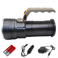 2000LM powerful handlamp CREE Q5 3 modes led flashlight lantern rechargeable hand lamp torch light + 2 x 18650 battery + charger