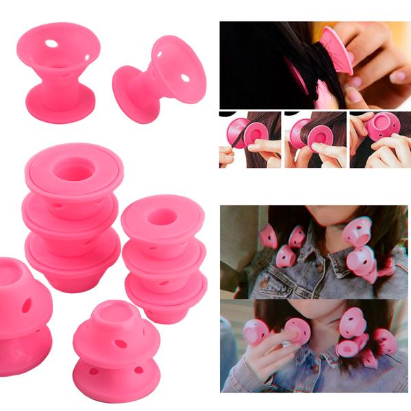 2 Colors 30 Pcs Mushroom Hair Rollers No Clip Silicone Curlers Professional Hair Style Tools Accessories No Heat2 Colors 30 Pcs Mushroom Hair Rollers No Clip Silicone Curlers Professional Hair Style Tools Accessories No Heat