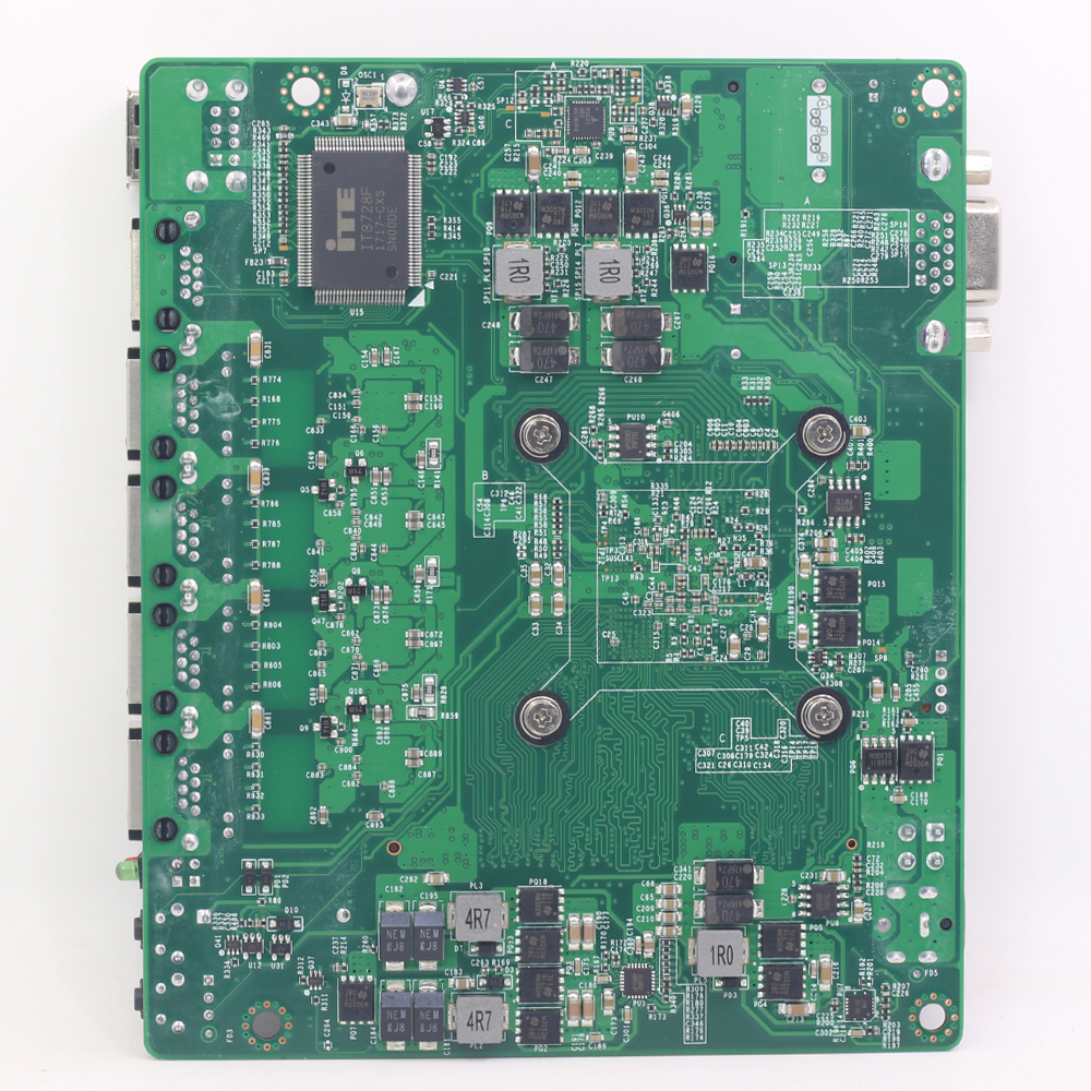 Pfsense Mini ITX Motherboard Fanless with Intel Celeron J1900 Processor 4  Gigabit LAN ports Intel NIC apply for Firewall Router
