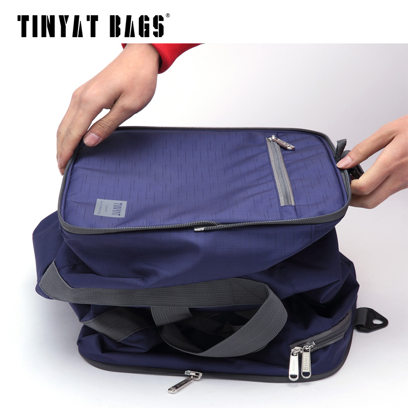 Tinyat Hombres Hombres Bolsa de Viaje Bolsa Plegable Protable Molle - Bolsas para equipaje y viajes - foto 4