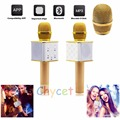 2016 Luxury Wireless Bluetooth Microphone K song voice tube micrphones For Conference Karaoke Teaching Meeting sing With Package