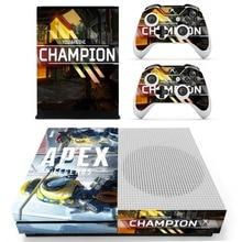 Игра APEX Legends наклейка на кожу для Microsoft Xbox One S консоль и 2 контроллера для Xbox One тонкая наклейка на кожу