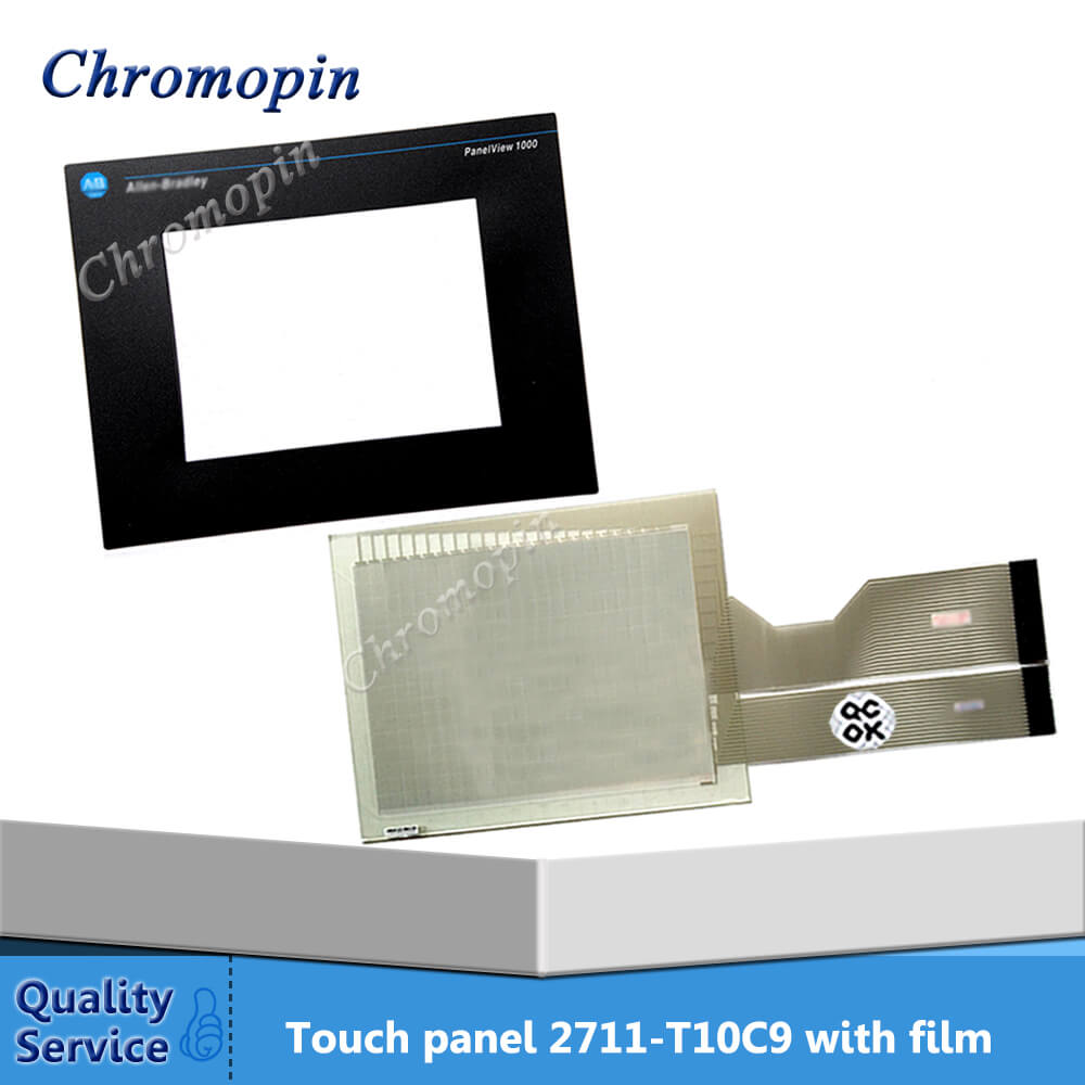 Touch panel for AB 2711-T10C9 2711-T10C9L1 2711-T10G1 PanelView 1000 with Protective film цена