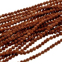 6mm Rudraksha Bodhi Seed Tibet Buddhist 108 Prayer Beads Mala(China)