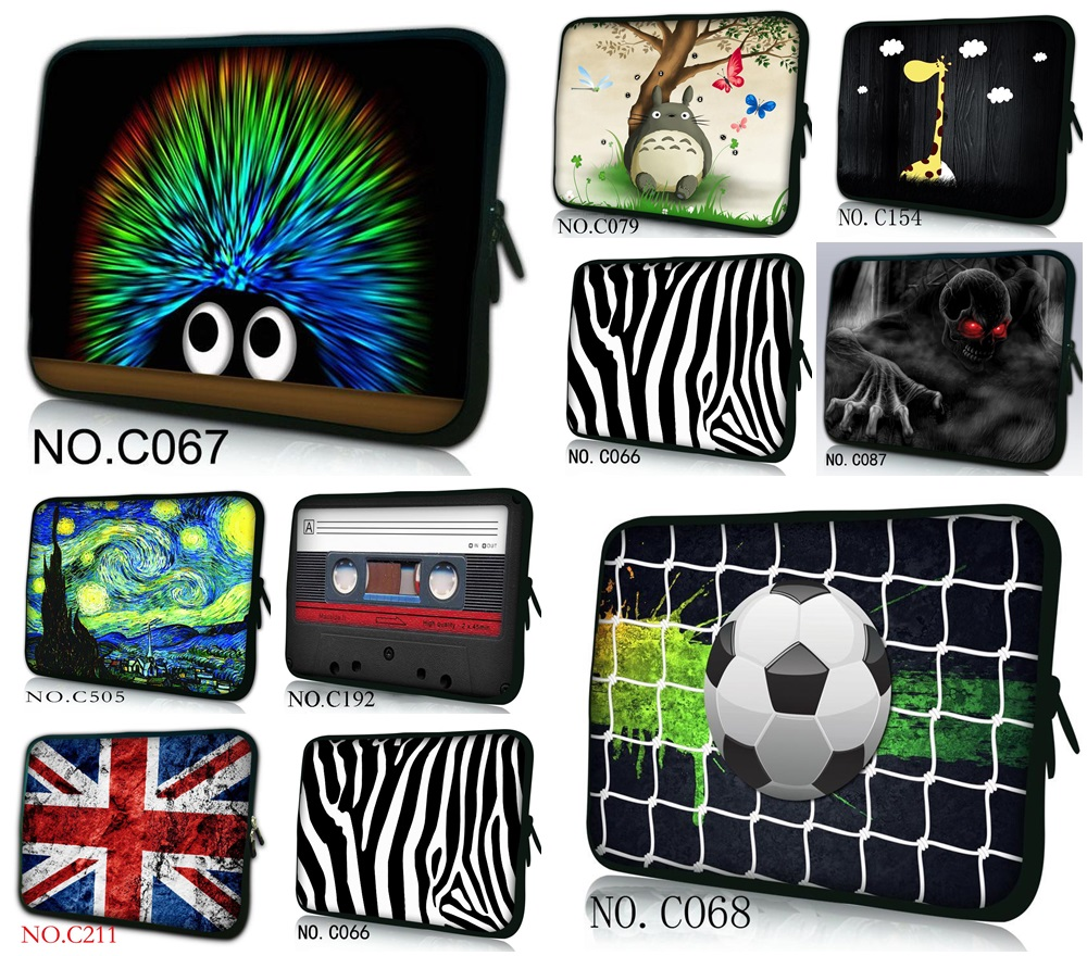 Computer Notebook Laptop Sleeve Bag Zipper Waterproof Cover Pouch For Macbook Air 11 13 15 17 10 14.1 14 Dell Sony Ipad Mini 7.9