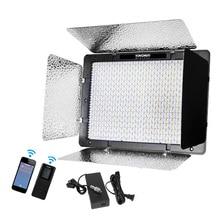 Yongnuo YN1200 + Power Adapter 5500 K Wit 9300LM CRI95 1200 SMD Led Video Vulling Licht Photo Studio Verlichting w /Afstandsbediening
