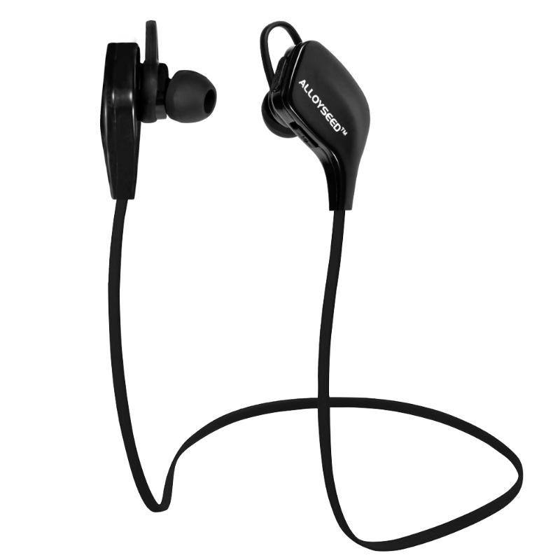 ALLOYSEED Bluetooth V4.1 Headphone Wireless Sport Headphone Noise Cancelling In-ear Stereo headset Earbuds Support HSP HFP A2DP
