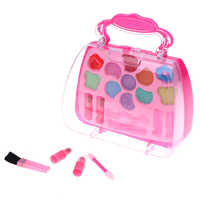 High Quality Pretend Play Kit Kids Gift Makeup Tools Princess Toys Girl Set Suitcase Cosmetic