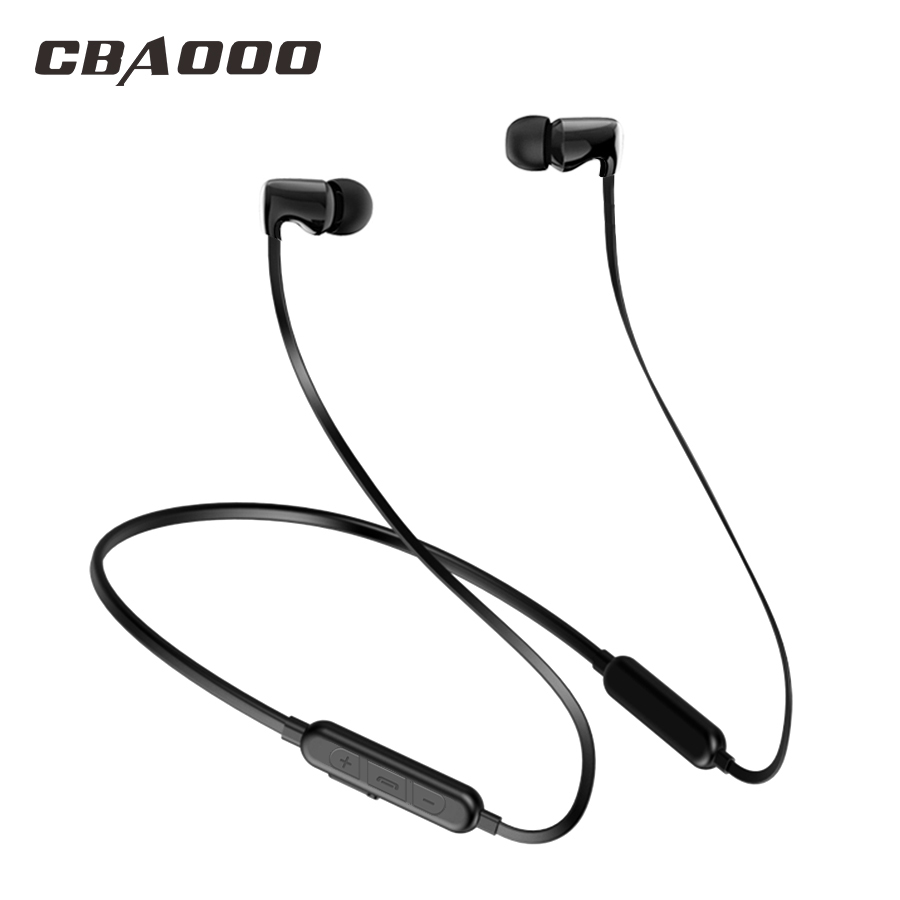 Ceramics Bluetooth Headphones Handsfree Headset Neckband Wireless Earphone Best Bass Ear Auriculares Cordless Headphone awei a920bls bluetooth earphone wireless headphone sport bluetooth headset auriculares cordless headphones casque 10h music