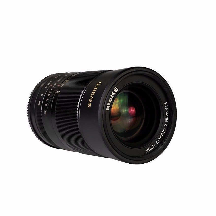 Meike MK-FX-25-0.95 Large Aperture Manual Focus lens APS-C For Fujifilm XT1