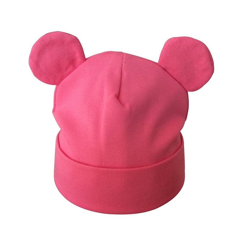 Partisig Brand Baby Hat Bomuld Ør Hat For Girls Fashion Cartoon Boys - Babytøj - Foto 5