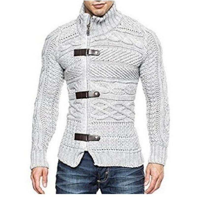 BDLJ Cardigan Sweater Coat Men Autumn Winter Sweatercoat Fashion Solid Sweaters Casual Warm Knitting Jumper Sweater Male Coats