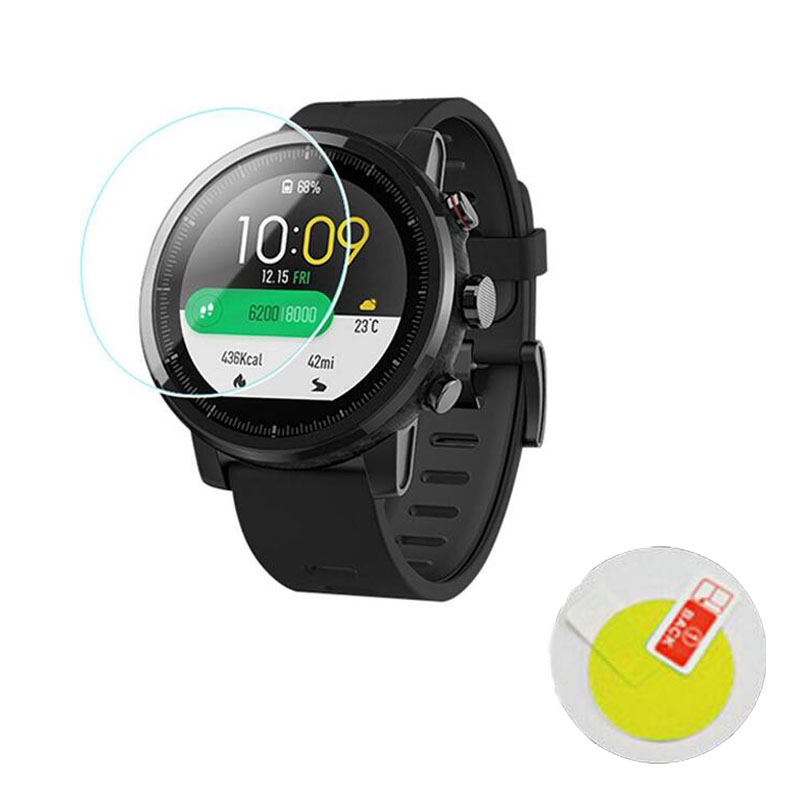 5x Soft TPU Ultra Clear Protective Film For Xiaomi Huami Amazfit Stratos Pace 2/2S Sport Smart Watch Full Screen Protector Cover
