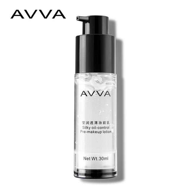 AVA suave transparente base de imprimación 30 ml/brillante transparente maquillaje antes de la leche hidratante aceite de Corrector En Crema