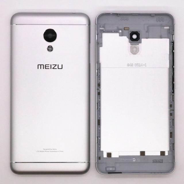 Original Metal Back Shell Housing Door Battery Cover Case For Meizu M3 NOTE  + Camera Glass Lens