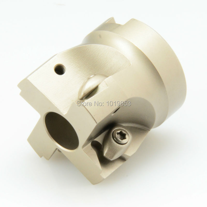 TP16 50 22 4T Right angle square shoulder indexable face milling cutter shell mill for TPKN1603