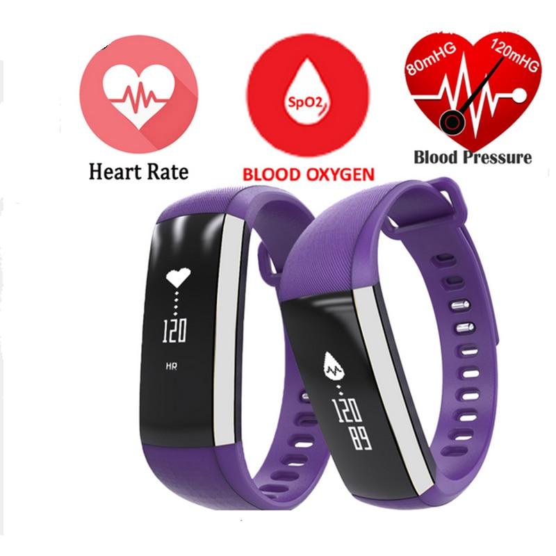 imágenes para Original M2 Elegante Banda de Frecuencia Cardiaca Pulso Oxímetro de Oxígeno Arterial Deporte Pulsera Del Reloj Del Reloj Inteligente Para Android iOS Hombres