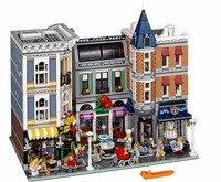 LELE 30019 City Creator 4122Pcs Assembly Square Romantic Restaurant Building Blocks Bricks Compatible Legoing 15019
