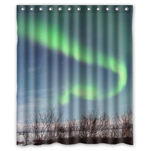 Custom Northern Lights Beautiful Arts Shower Curtain