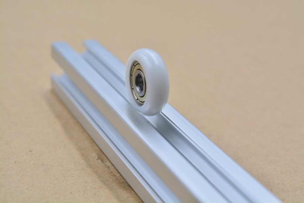 3d drucker pulley 5mm x 21,5mm x 7mm nylon kunststoff sphärische arc kugellager sind 625ZZ R5x21.5x7 1 stücke