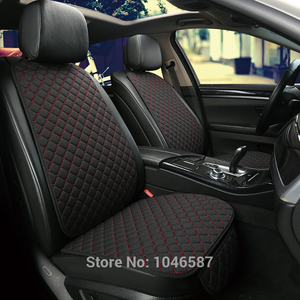 Image 5 - Car Front Seat Back Cushion Car seat cushions Seat Cover Protector Pad Mat for Auto Front Car Styling Car Decorate Protect