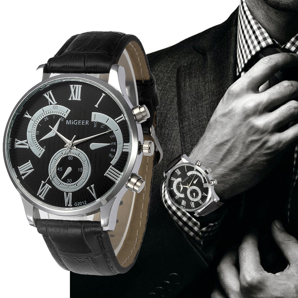 2018 Fashion Quartz Watch Men Watches Top Brand Luxury Famous Wristwatch Male Clock Wrist Watch Luminous watch Relogio Masculino цена