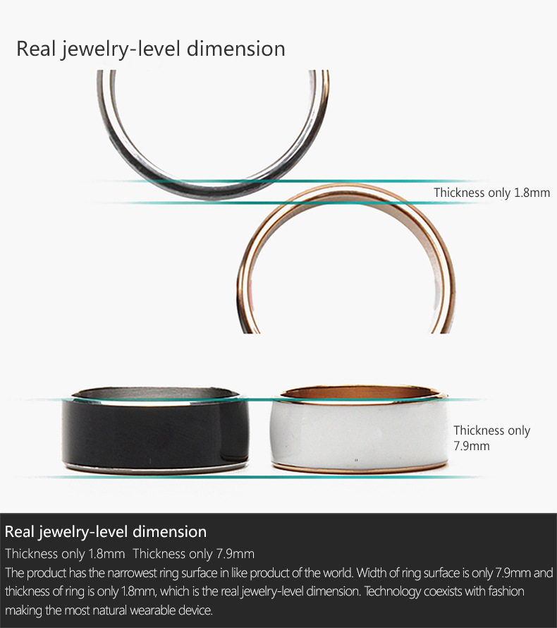 Jakcom R3F Smart Ring Waterproof for High Speed NFC Electronics Phone with aAndroid Small Magic Ring-10