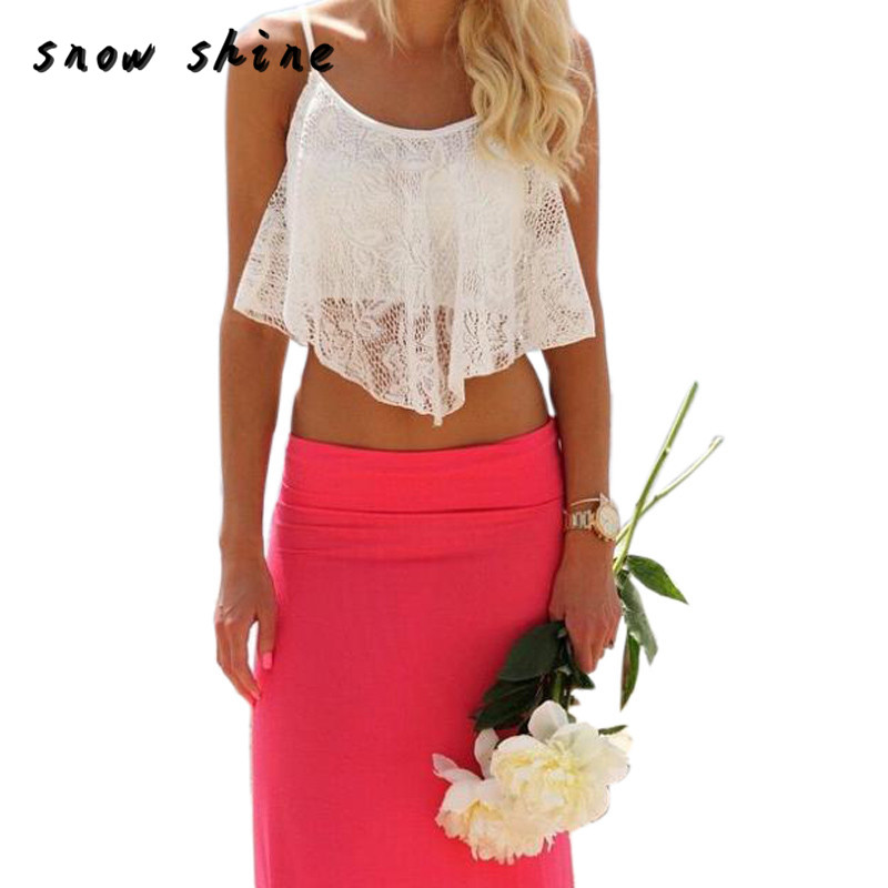 snowshine YLI Sexy Women Lace Floral Crop Top Bralette Bralet Shirt Cami Blouse Tank Free Shipping