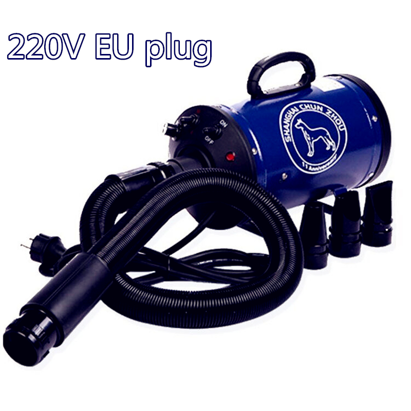 High Powered Blower : Dog dryer professional pet hair blower blow