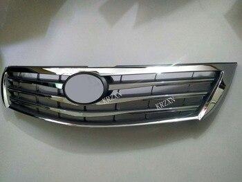 ABS chrome Front Bumper Lưới Tản Nhiệt Racing Grill Khung Mouding Trim đối với Cho 2010-2011 TOYOTA CAMRY