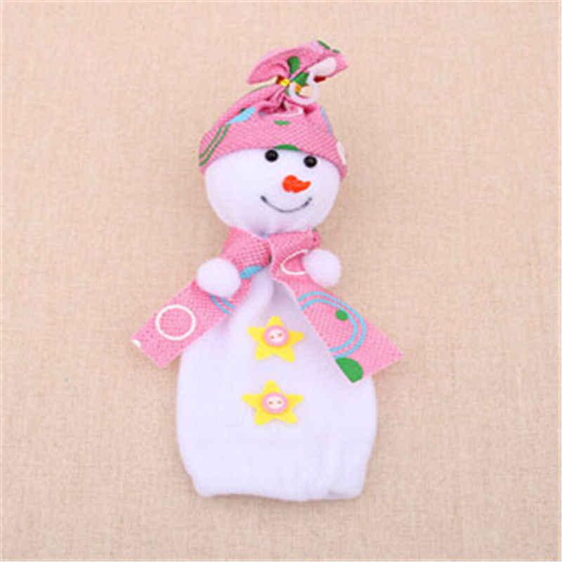 Новинка 2019 года Рождество Eve сумка для конфет в подарок коробочки для яблок милый снеговик кукла украшения для дома новый год