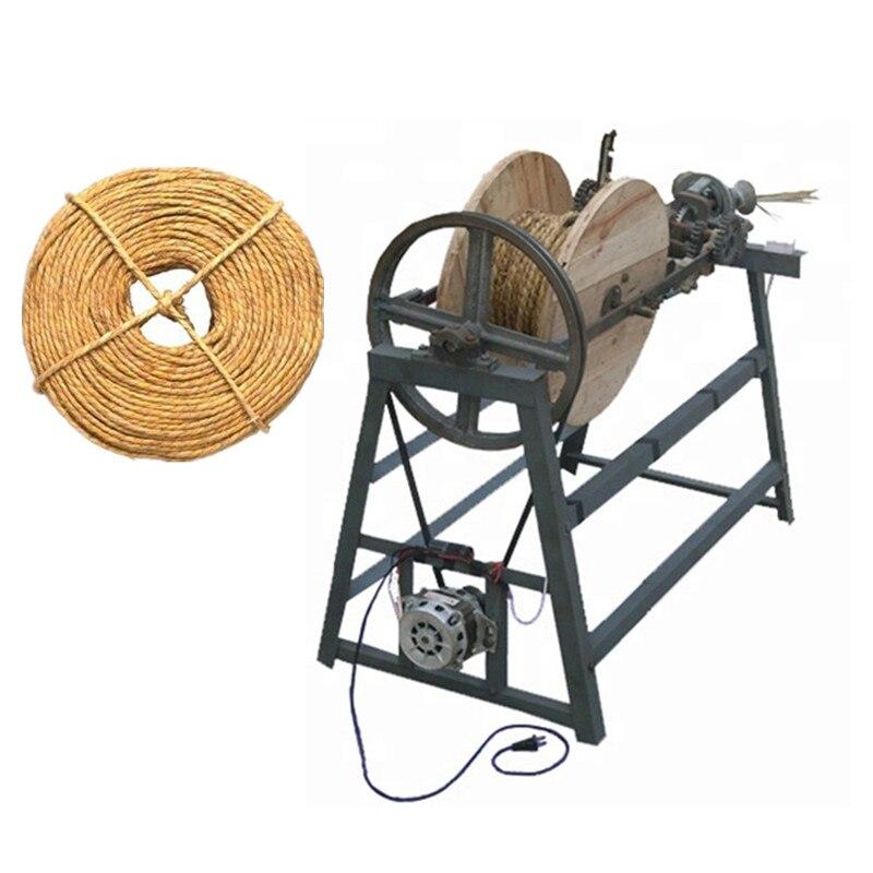 Corde de jute de corde de toronnage de machine de corde de paille de prix usine faisant la machine - 2