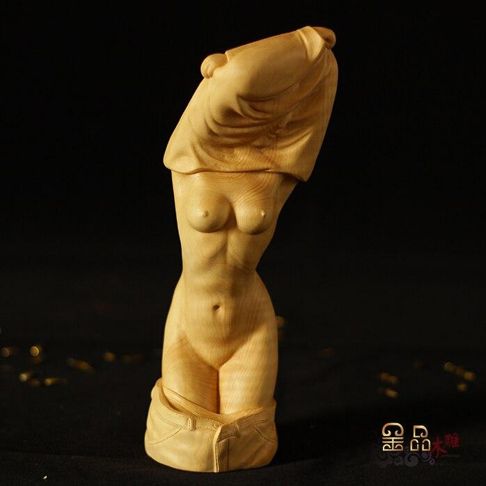 Les articles de jardin ornements Yueqing buis sculptures affaires saint valentin figure sculpture corps art nu