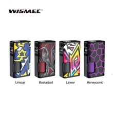 Newest WISMEC Luxotic Surface 80W Squonk TC MOD 6.5ml Squonk Bottle 0.001s Firing Speed Ecig Vape Mod VS Gen 3 Dual/Luxotic BF newest hugsvape surge squonk kit 80w surge squonk mod with piper rda atomizer powered by single 18650 battery vs athena kit