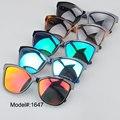 2016 New fashional 1647 plastic optical frame with TR temple eyewear polarized lens sunglasses sunshades